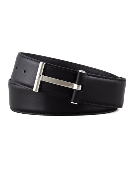 Tom Ford Belts by Tom Ford Belt Michael Nyqvist Tom Ford Leather T Buckle
