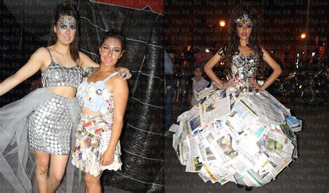 vestidos de la epoca colonial con material reciclable vestidos de reinas material reciclado imagui