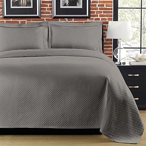 Buy Gray King Coverlets From Bed Bath Beyond