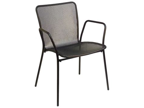 steel dining chairs india emu khali steel stacking armchair 339