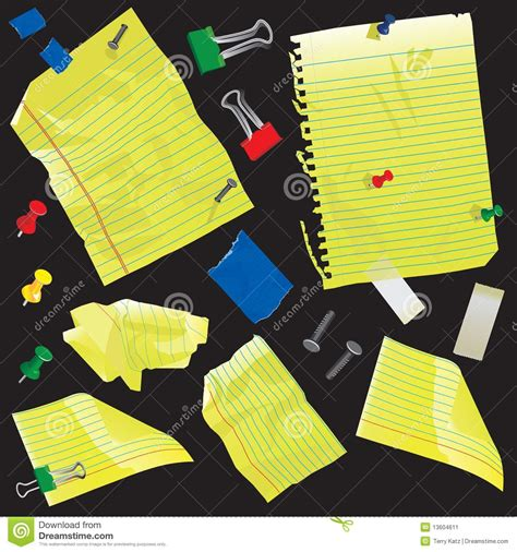 Gift Card Supplies - yellow paper note cards and supplies stock image image 13604611