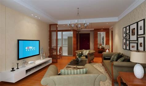 furnished living rooms fully furnished living dining room with oa 3d model max cgtrader
