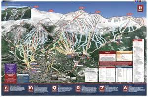colorado ski report map breckenridge trail map