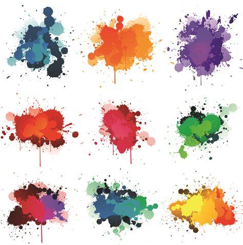 painting free paint splash vector free clipart best
