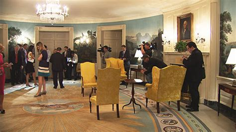white house diplomatic room an inside view of the white house from a wral photographer capitol broadcasting company