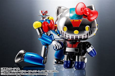 Bandai Chogokin Mazinger Z Hello Color Chogokin Hello Mazinger Z Color Collectiondx