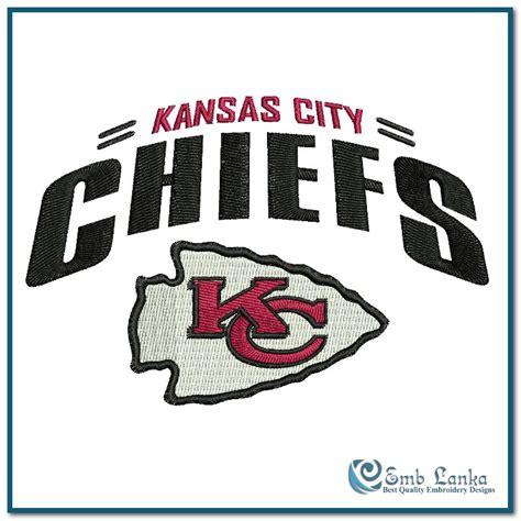 debonair design graphics kansas city kansas city chiefs logo 2 embroidery design emblanka com