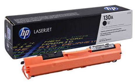 Toner Hp 93a Cartridge Original genuine hp cf350a 130a black toner cartridge hpcf350abkoem