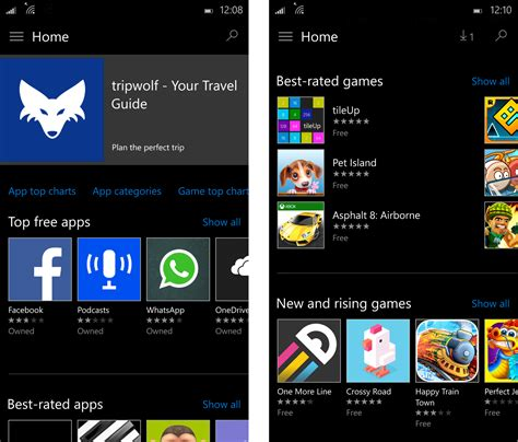 mobile app store windows 10 mobile review on expert reviews