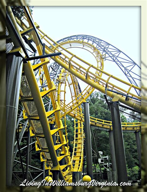 Busch Gardens New Coaster by Living In Williamsburg Virginia The Coaster Busch