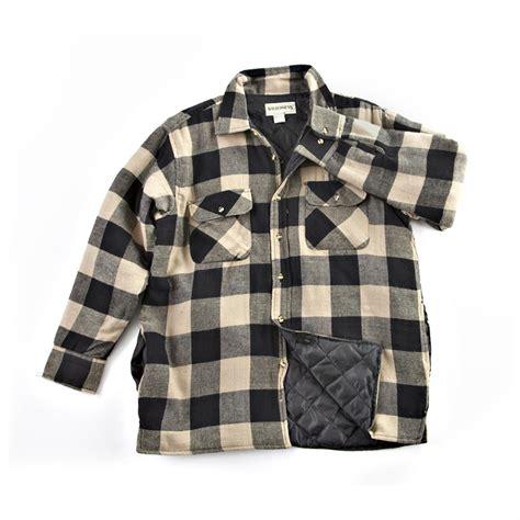 Plaid Shirt Jacket insulated plaid shirt jacket 187152 shirts polos at