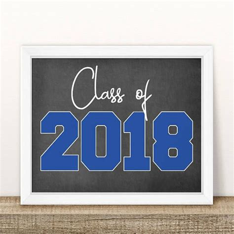 printable class   graduation sign senior pictures