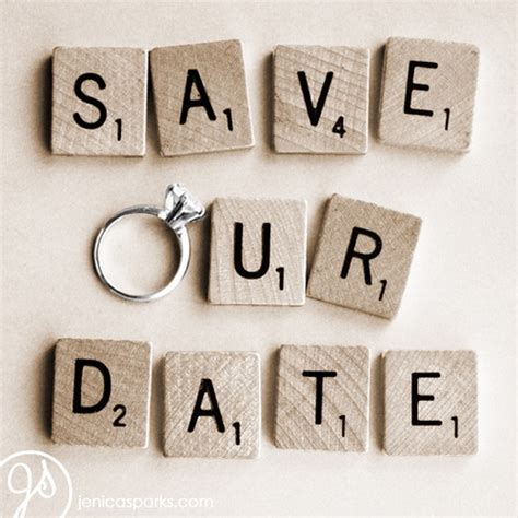 Ways To Save The Date by 20 Creative Ways To Save The Date