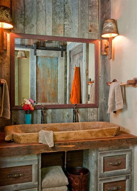 Rustic Bathroom Design by 5 Ultra Rustic Bathrooms