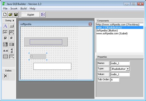 simple java swing gui exle design a java gui using only your mouse