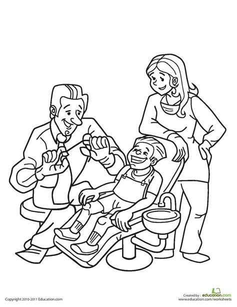 print coloring sheets for personal hygiene coloring pages