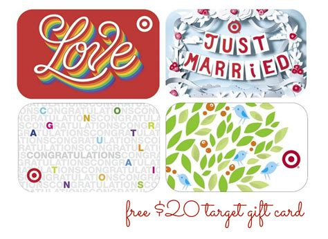 free 20 target gift card with wedding registry couponing 101 - Target Registry Gift Card