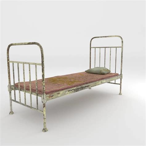 old bed 3ds max old bed