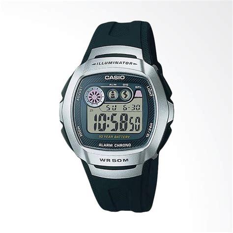 Harga Jam Tangan Casio Quartz Wr 50m jual casio standar w 210 1avdf alarm chrono wr 50m jam