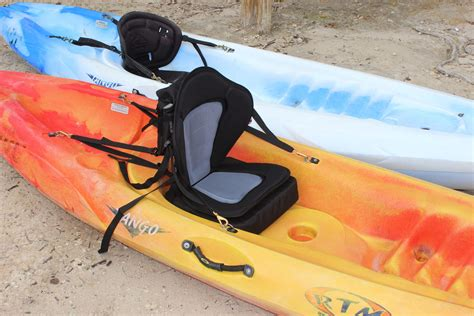 removable canoe seat deluxe fishing kayak seat with removable cushion
