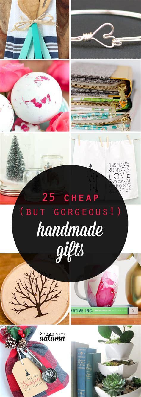 cheap xmas bun ideas 25 cheap but gorgeous diy gift ideas gifts holidays and easy