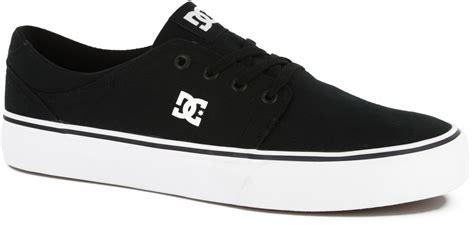 dc shoes trase tx skate shoes black white free shipping
