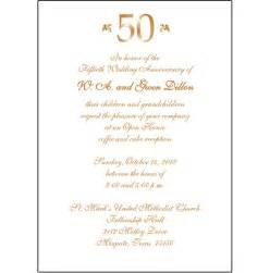 invitation wordings for 50th wedding anniversary 50th wedding anniversary invitation wording theruntime