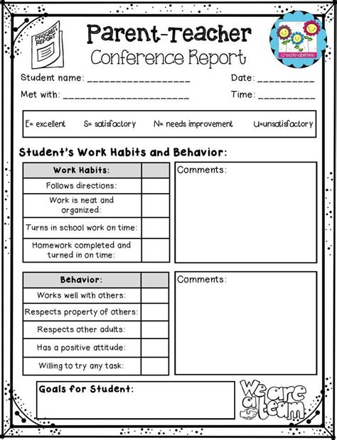 parent up card template 63 best images about progress reports 3 way conference on