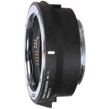 sigma ef mount lens to sony e mount mc 11 adapter