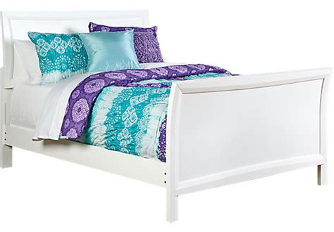 ivy league cherry 6 pc full sleigh bedroom teen bedroom ivy league white 6 pc full sleigh bedroom bedroom sets white