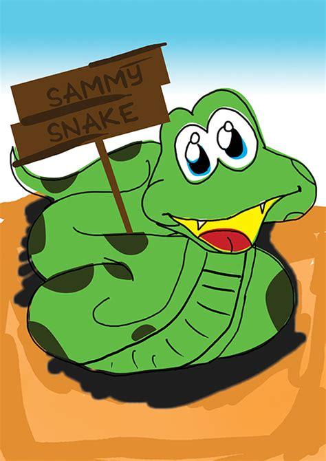 sammy snake coloring page how to draw sammy snake