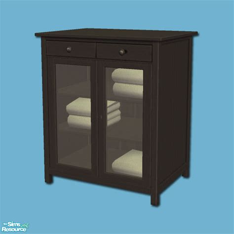 Hemnes Linen Cabinet by Shakeshaft S Hemnes Add Ons Linen Cabinet Black