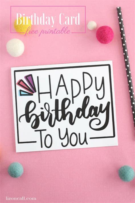 foldable birthday card template printable birthday greeting cards