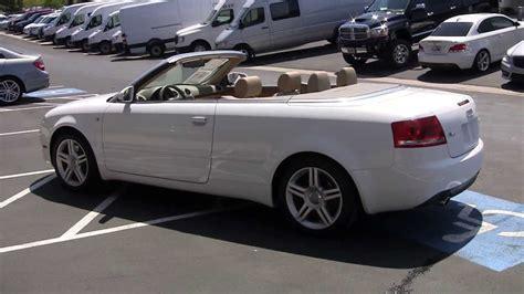 Audi A4 Quattro Convertible 2008 8k014875p Youtube