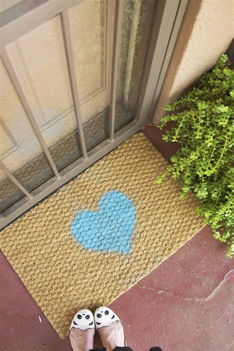 diy mat 15 creative diy welcome mat ideas that can send a message