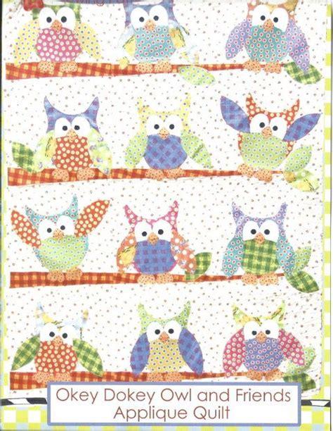 quilt pattern owl owl quilt pattern 10 owls pinterest