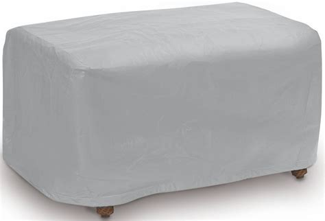 oversized ottoman covers gray large ottoman cover from pci outdoor covers coleman