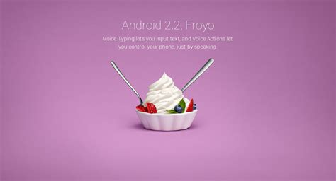 froyo android evolution of android android 1 0 to android 7 0