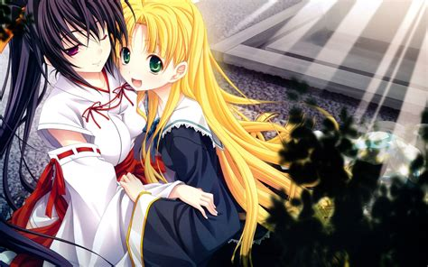 wallpaper anime highschool dxd high school dxd full hd wallpaper and background image