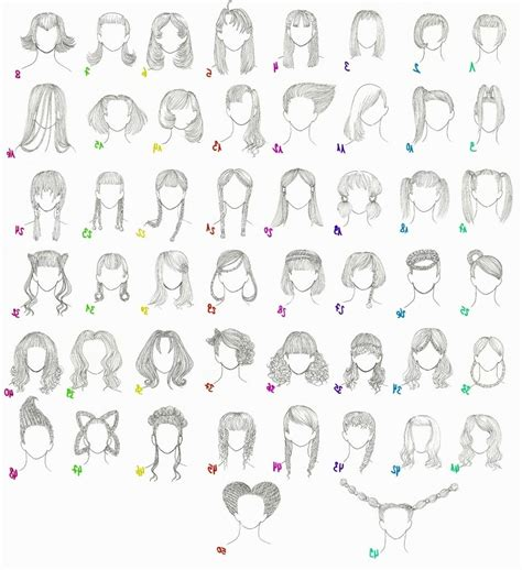 Names Of Anime Hairstyles   Hairstyles Ideas