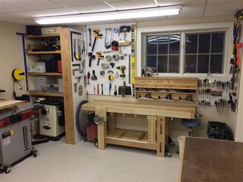 ken s basement retreat the wood whisperer - Werkstatt Ideen