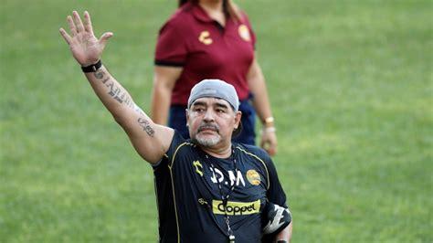 world cup star diego maradona    pitch issues