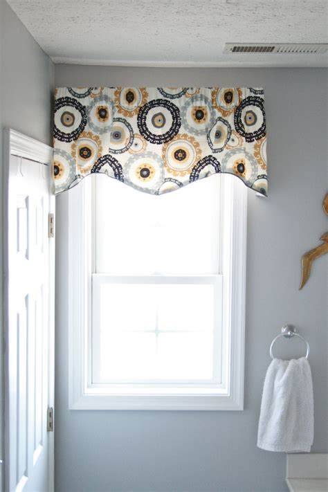 bathroom window valance throwing a curve ball in the bathroom dream green diy