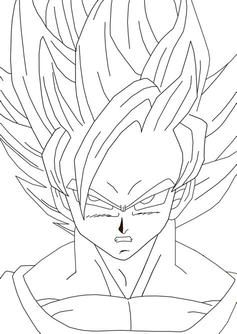 Free Coloring Pages Of Goku 1000 Z Coloring Pages Goku Saiyan 5