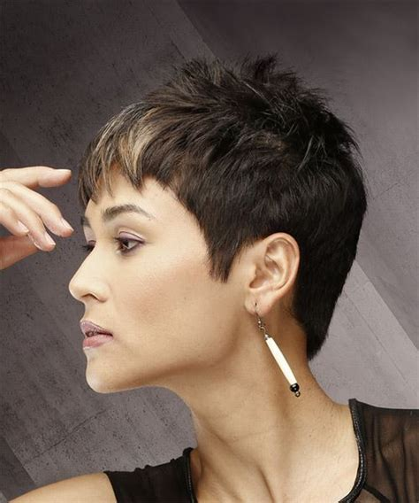 short spiky razor cut hairstyles pixie hairstyles and haircuts in 2018