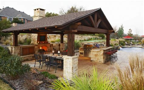 outside kitchen design ideas download outdoor kitchen and fireplace gen4congress com