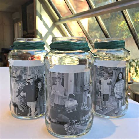 jar centerpieces jar photo centerpieces momof6
