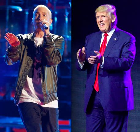 eminem unleashes on donald trump in new song quot no favors eminem bashes donald trump in his new song
