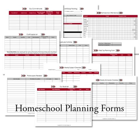 homeschool lesson planner online homeschool lesson planner arrows confessions of a