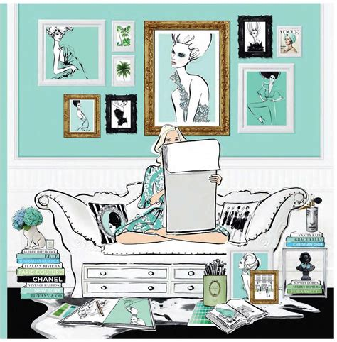 libro fashion house illustrated interiors booktopia fashion house illustrated interiors from the icons of style by megan hess